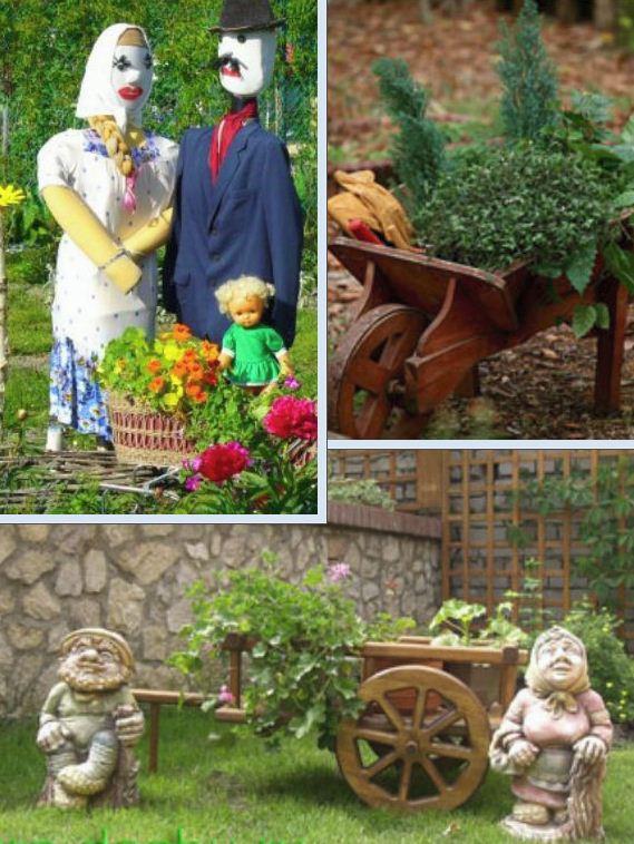 Сада и огорода на дачном участке