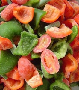 Хранение овощей замораживанием