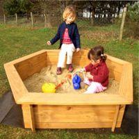 песочница для детей на даче