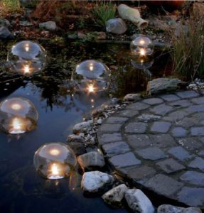 подсветка для пруда