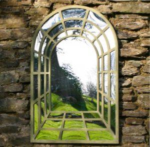 зеркала в саду