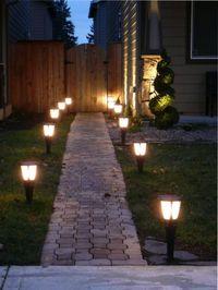 уличное освещение для дачи