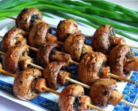 блюда, приготовленные на мангале