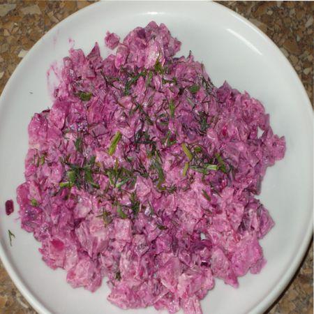 салаты с хреном, рецепты