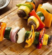 блюда из овощей на мангале