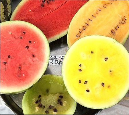 плоды необычного цвета